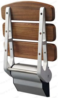 New Acquadeco Wall Mount Shower Seat Solid Teak