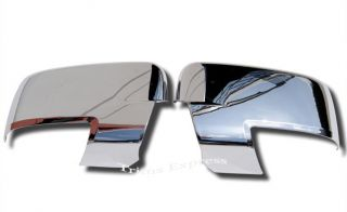 2009 2013 Dodge RAM 1500 2010 2013 RAM 2500 3500 HD Chrome Door Mirror Covers