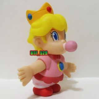 "Action 3""1 2 Baby Princess Peach New Super Mario Brothers Action Figure"