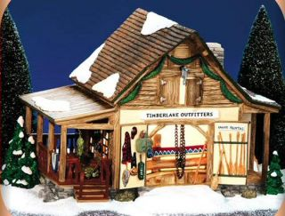 Timberlake Outfitters New Department Dept Snow Village D56 SV