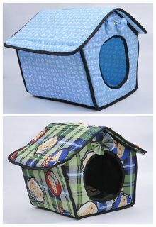 S Size Cute Soft Pet Dog Cat Sleeping Bed House Kennel Doggy Warm Cushion Basket