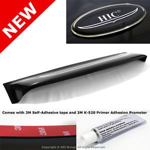 HIC Honda Accord Sedan 03 07 Smoke Rear Roof Sun Shade Window Visor Spoiler