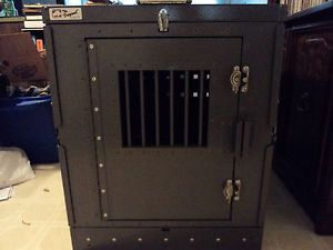 Kalispel Hunting Dog Crate Heavy Duty Aluminum Folding