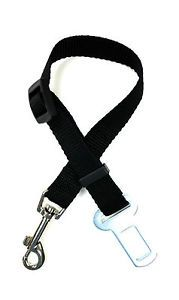 Auto Car Vehicle Safety Seatbelt Harness Lead for Cat Dog Pet Seat Belt Black