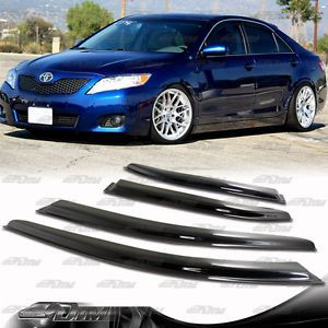 2007 2009 Toyota Camry JDM Style Door Window Visor Rain Shield Guard Sun Shade