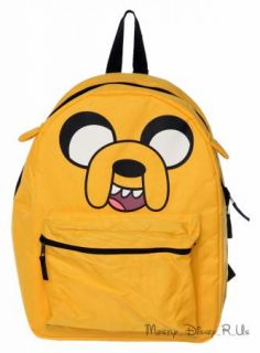 New Adventure Time Finn and Jake Cake Reversible Backpack Book Bag Tote 2 in 1