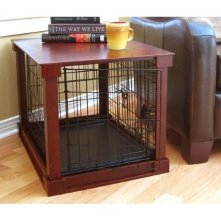 Merry Products Deluxe Wood and Wire Dog Crate