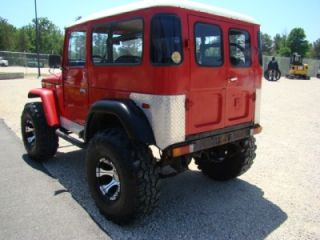 1976 Red Toyota Land Cruiser Jeep 4x4 Dick Cepek Wheels 454 Chevy Big Block V8