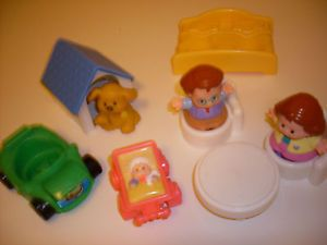 Fisher Price Little People Dollhouse Furniture