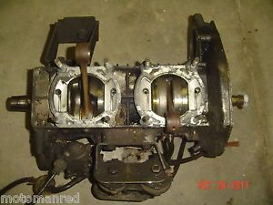 81 82 83 Yamaha SRV540 540 V Max Engine Bottom End Crankcase Crankshaft Crank