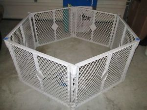 Top Paw Pet Yard Containment Pen Portable Play Area for Pets Dog Animals