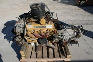 Caterpillar 3208 Diesel Engine Allison AT545 Transmission 4 SD 1551 Miles 200HP
