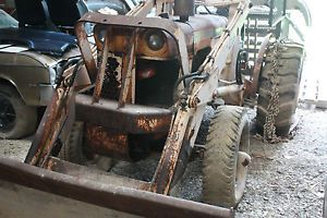 Case 530 Loader Tractor w Gas Engine PTO 3 PT Hitch PS Tire Chains Complete