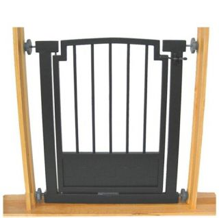 Adjustable Metal Door Dog Gate Pet Barrier Containment
