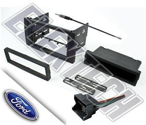 Ford Transit Connect Radio Dash Mounting Kit w Wire Harness Antenna Adapter