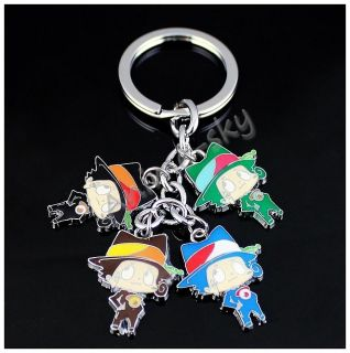 Katekyo Hitman Reborn Anime Metal Key Chain Ring Key Pendant A0119
