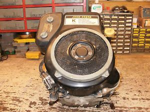 Kawasaki FC420V Engine from John Deere LX172 14HP Motor K Series 422cc Engine