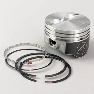 SEALED Power Piston and Ring Kit Hypereutectic Flat 4 060 in Bore Chevy Kit