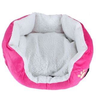 New Pet Dog Puppy Cat Soft Fleece Warm Bed House Plush Cozy Nest Mat Pad 6 Color