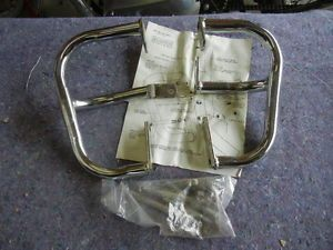 Triangle Safety Crash Engine Case Saver Bars 1982 Kawasaki KZ550 GPZ550
