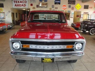 RARE Truck 1969 C10 Short Bed 4x4 350 Automatic PS PB Frame Off Restored 70 72