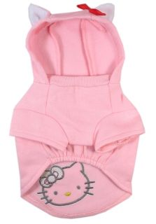 621 XS XL Pink Hello Kitty Hood Sweatshirts Dog Clothes