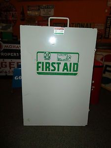 Vintage Zee Medical Products First Aid Kit Box Irvine California
