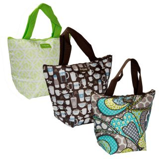 Thirty One Gifts Thermal Insulated Tote Food Drink Waterproof Cooler Travel Bags