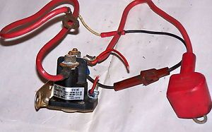 12 V Starter Solenoid Fits All 12 18 HP Engines Wiring Harness Included