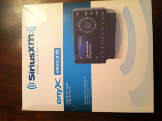 Audiovox XDNX1V1 Sirius XM Onyx Dock Play Radio w Vehicle Kit