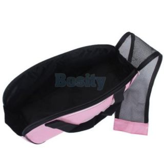 3X Pet Dog Cat Carrier Tote Bag Handbag Shoulder Travel Bag Pink Oxford Cloth