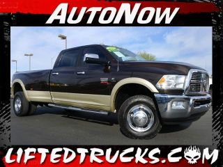 2011 Dodge RAM Laramie 3500 HD Crew Cab Dually Cummins Diesel 4x4 Truck Like New