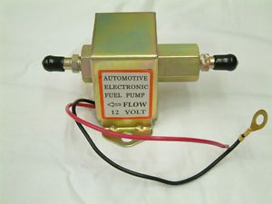 Electronic Automotive Fuel Pump Solid State Facet Style