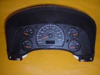 03 Chevy GMC Van Speedometer Instrument Cluster Dash Panel Gauges 113 591