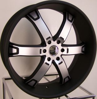 22 KMC Brodie Wheels Rim Ford F150 Expedition Navigator