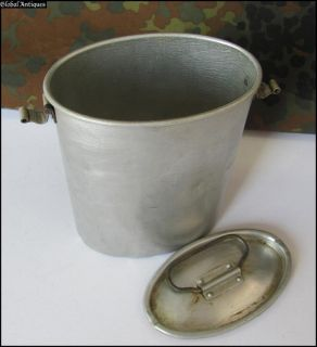 WWII Original German Officer Aluminum Food Container