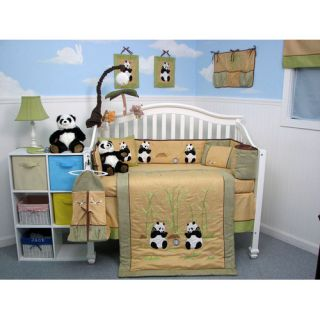 Soho Designs 13 Piece Giant Panda Bear Baby Crib Nursery Bedding Set Giantpanda