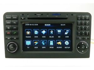 Car DVD GPS Navi Radio RDS iPod Autoradio Headunit Mercedes Benz ML350 2006 2011