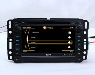 In Dash Car DVD Player GPS Radio Stereo 7' Touch Screen for GMC Chevrolet Buick