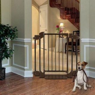 Richell Auto Deluxe Pet Gate Dog Gate Door