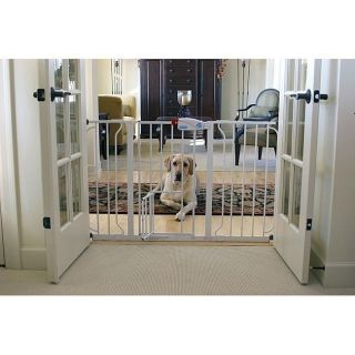 Carlson Super Wide Walk Through Pet Baby Safety Gate Indoor Dog Cat Door Fence