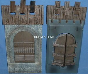 Castle Gate Gates Spare Parts Play Along Helms Deep Parts LOTR AOME Doors