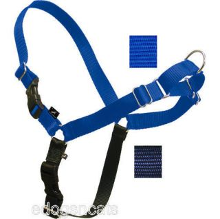 Gentle Leader Easy Walk Harness Dog Blue Navy Large
