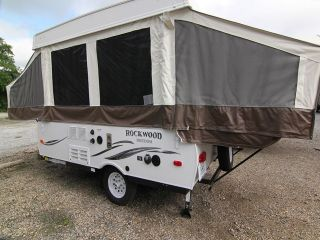 New 2014 Rockwood Freedom 1980 Pop Up Trailer Awning Spare Tire Sleeps 6