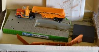 US 1 Electric Trucking Add on Gravel Truck Terminal Truck Trailer HO Scale