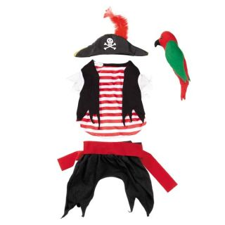 Zack Zoey Pirate Tails Dog Halloween Costume Pet Costumes XS XXL