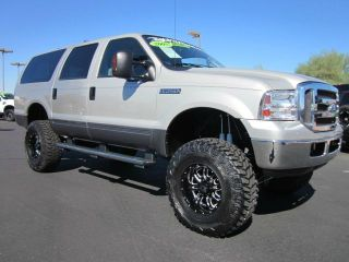 2005 Ford Excursion XLT Powerstroke Diesel 4x4 Lifted SUV Used Low Miles Nice