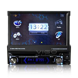 ETO 7'' Car Stereo with Detachable Panel DVD GPS Navigation Bluetooth Auto Radio