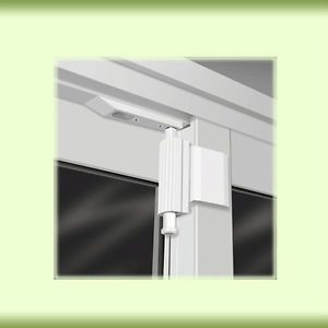 Cardinal Gates The Patio Door Guardian Lock White Each
