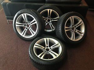 BMW M6 Wheels and Michelin Tires Factory Set